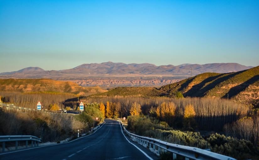 The Sierra Nevadas of Spain!