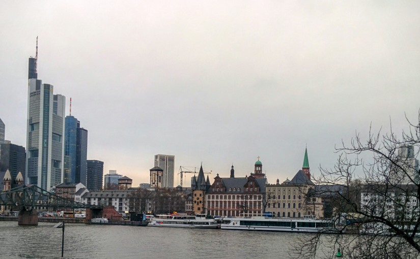 Frankfurt for a few days!