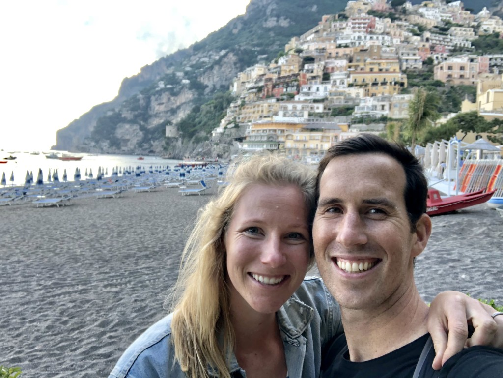 We went to a couple fancy restaurants with beautiful views in Positano!