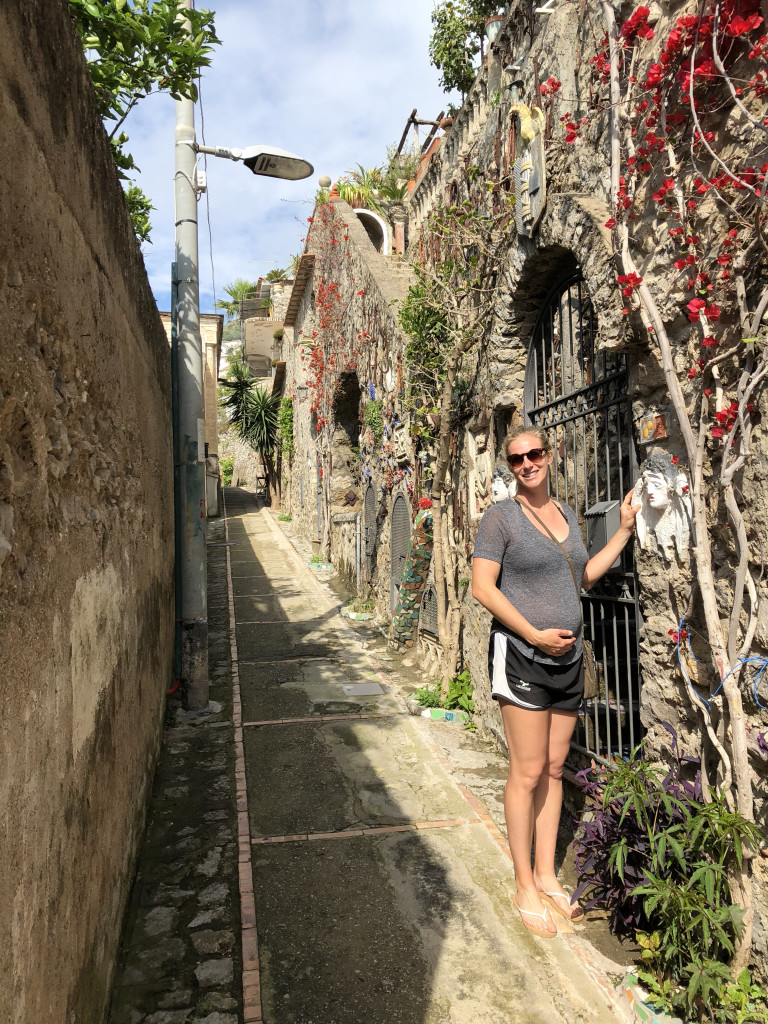 "Cute little ""streets"" in Praiano"